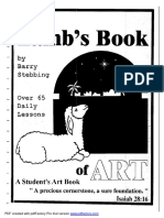 How Great Thou Art the Lamb's Book of Art Ages 8-13