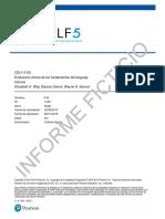 CELF-5 Informe