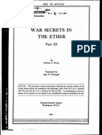 WAR SECRETS IN THE ETHER Part III