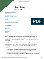 Arrays in Visual Basic _ Microsoft Docs