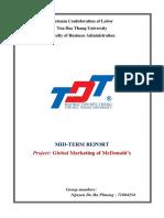 Mcdonalds International Marketing Strategy