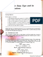 17. Pointer Data Types and Its Applications