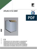 ATLAS D SI UNIT Manual Instrucciones