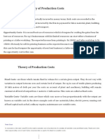 8. Theory of Production Cost