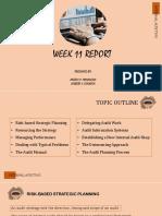 Week 11 Report
