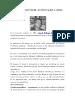 Modelo Sociosemiótico de La Comunicación de Miguel Rodrigo Alcin1