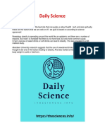 Daily Science Converted