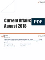 Current Affairs – August 2018-1