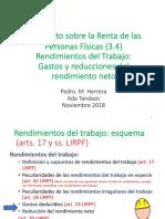 IRPF 03 04 VISTO Trabajo Gastos y Reducciones