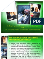 Multiple Goals of Science and Technology