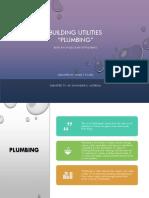 Building Utilities - Plumbing