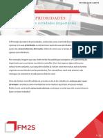 FM2S - Matriz de Prioridades