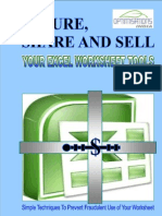 Secure, Share and Sell Your Excel Worksheet Tools Brochure