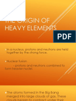 3.Origin of Heavy Elements