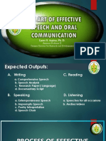 Lessons in Effective Speech and Oral Communication
