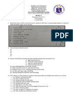 Summative Test No. 1 (1ST QUARTER)