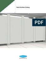 Toilet Partition Catalog