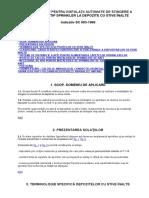 Indicativ Sc 003 1999 Soluţii Cadru Pentru Instalaţii Automate de Stingere a Incendiilor Tip Sprinkler La Depozite Cu Stive Înalte