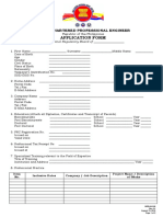 ACPE Application Form
