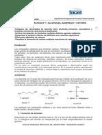 informa organica aldehidos