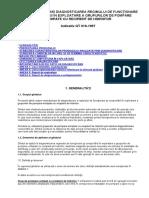 Indicativ GT 018-1997 GHID TEHNIC PRIVIND DIAGNOSTICAREA REGIMULUI DE FUNCŢIONARE ŞI COMPORTĂRII ÎN EXPLOATARE A GRUPURILOR DE POMPARE ECHIPATE CU RECIPIENT DE HIDROFOR