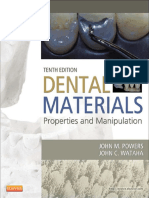 Dental Materials Properties and Manipulation , 10ed (2013)