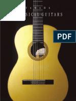 Yamaha clasic guitar cg201s