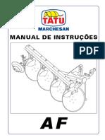 Manual Arado Tatu