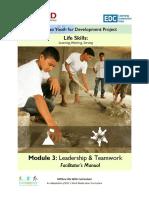 FM Module-3 Leadership Teamwork FINAL May 2017