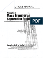 mass transfer bk dutta solution manual