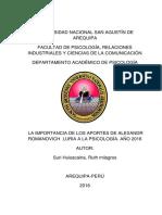 Avance Del Informe Terminar, Marco Teórico Domingoooooooo