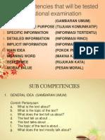 9 Competences for UN