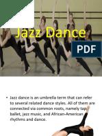 Jazz Dance Powerpoint