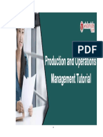 Total Quality Management-operation Management