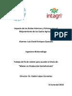 Acidos Humicos y Fulvicos Para El Mejoramiento de Los Suelos Agricolas (Enriquez)