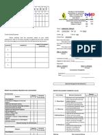 Arrangement of Subjects Card
