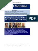 2012 - Alimentos Processados - Ultra-processing the Big Issue for Nutrituin