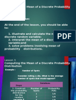 Chapter 1 - Random Variables and Probability Distribution