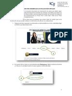 Instrucciones Para Desarrollar Las Evaluaciones Virtuales