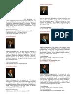Presidentes Del Ecuador BIOGRAFIAS e Imagenes