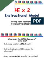 4E x 2 Instructional Model Final Presentation
