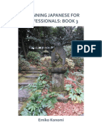 Beginning Japanese for Professionals_ Book 3
