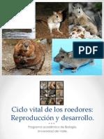 Ciclo Reproductivo y Embriología en Roedores.