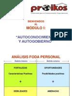 Presentación Taller Modulo 1 Autoconocimiento