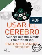 239695955 F Manes 2014 Usar El Cerebro PDF