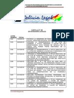 Actualización Normativa al  06 de Noviembre de 2019