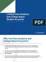 Linking College Board Khan Academy Accounts Presentation