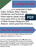 Ilonggo Literature