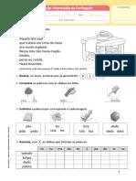 Fichas de Avaliação Intermédia e Final