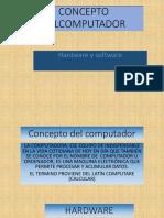 CONCEPTO DELCOMPUTADOR